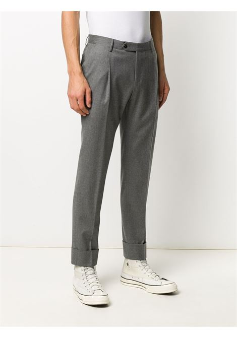 Grey cotton blend pleat-detail trousers PT01 |  | COAFFKZ00CL1-CM130230