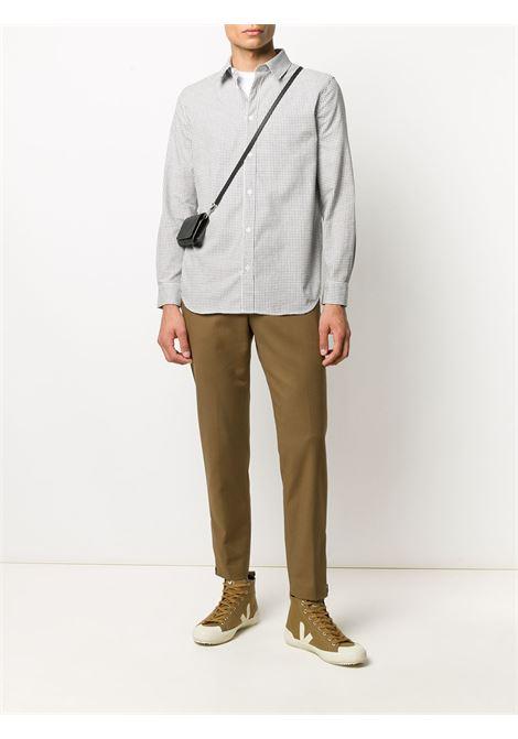 pantalone sfoderato color nocciola a vita alta in cotone elasticizzato PT01 | Pantaloni | COASEPZ10KLT-BP400090