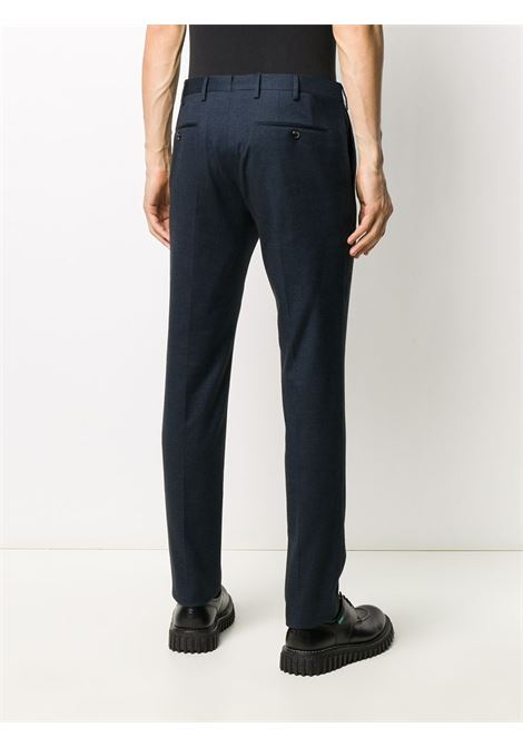 classic cut cotton trousers with blue micro-squares PT01 |  | COKSZEZ00CL1-BB310360