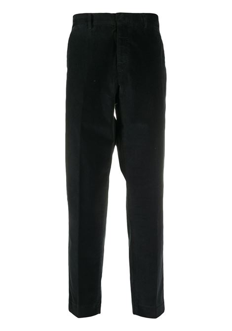 Black stretch cotton corduroy trousers  PT01 |  | CORTZ0Z00AND-TT270990