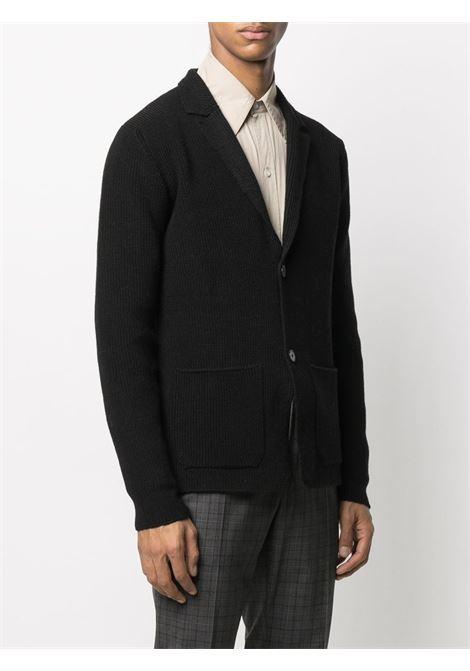Blazer nero monopetto in lana ROBERTO COLLINA | Giacche | RD0901109