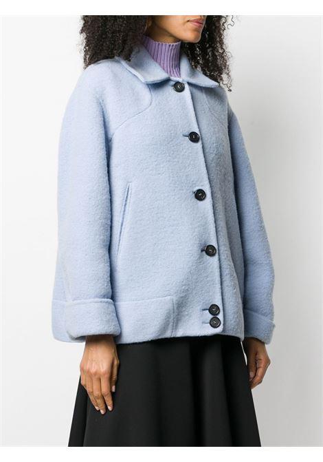 Light blue alpaca wool jacket  ROCHAS |  | ROPR1501D-RR004459
