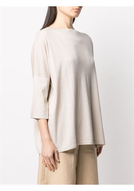 desert beige silk-cashmere blend loose-fit sweater  SNOBBY SHEEP |  | 20X.80170060