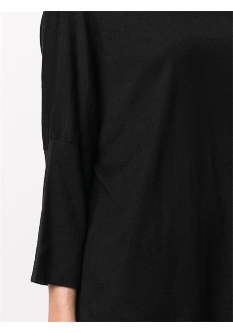 black silk-cashmere blend loose-fit sweater  SNOBBY SHEEP |  | 20X.80170999