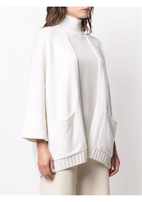 white wool-cashmere blend patch-pocket cardigan   SNOBBY SHEEP |  | 20X.80910001