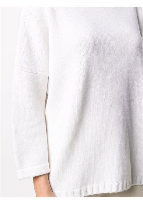 Maglione ampio con maniche a bracciale in misto lana-cashmere bianco SNOBBY SHEEP | Maglieria | 20X.80920001
