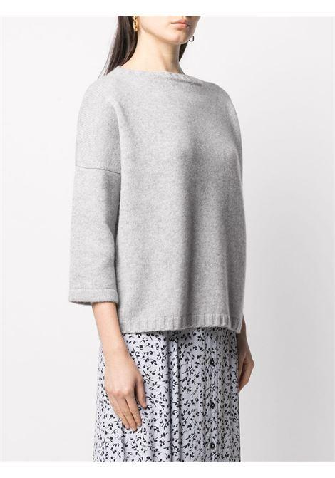 Maglione ampio con maniche a bracciale in misto lana-cashmere grigio nuvola SNOBBY SHEEP | Maglieria | 20X.80920730