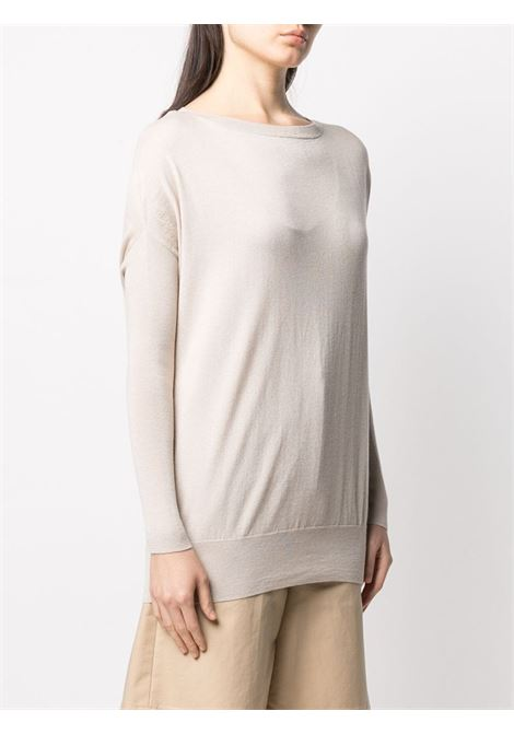 Maglione Grace con maniche dolman in misto seta e cashmere beige SNOBBY SHEEP | Maglieria | 20X.GRACE060