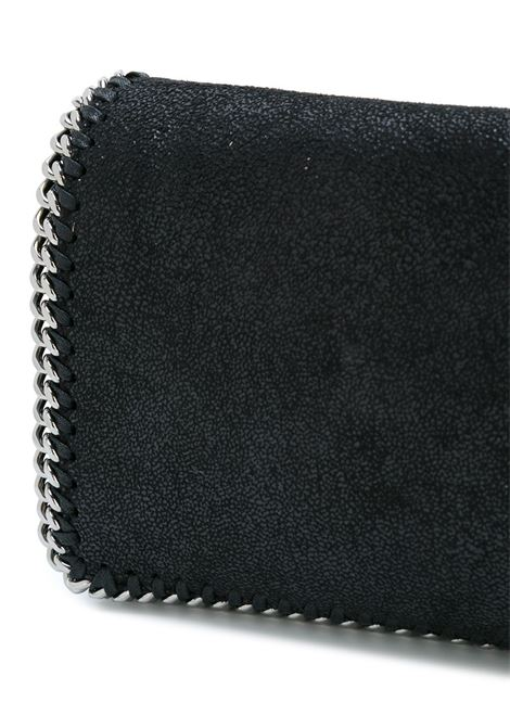 black Falabella crossbody bag with foldover top  snap closure STELLA MC CARTNEY |  | 291622-W91321000