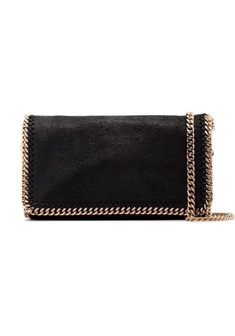 borsa a tracolla nera Falabella con catena dorata STELLA MC CARTNEY | Clutch | 291622-W93551000