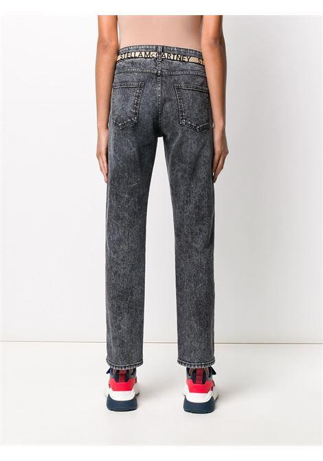 Jeans neri a gamba dritta in eco-cotone con lavaggio acido e boyfriend fit STELLA MC CARTNEY | Jeans | 372773-SOH051013