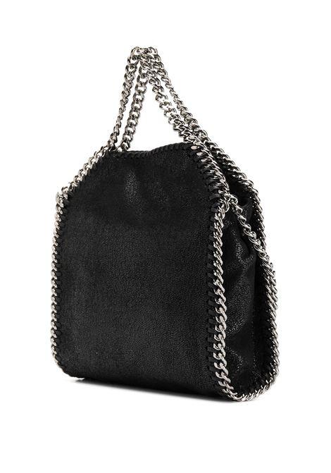 black mini Falabella tote bag with silver details STELLA MC CARTNEY |  | 391698-W91321000
