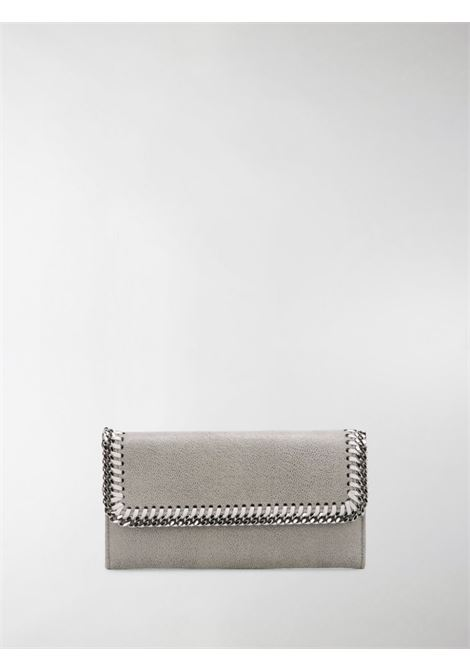 silver-tone chain trim grey Falabella continental wallet STELLA MC CARTNEY |  | 430999-W91321220