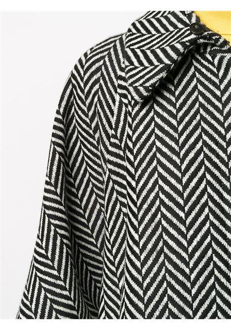 black and white wool herringbone pattern cape STELLA MC CARTNEY |  | 601694-SPB101000