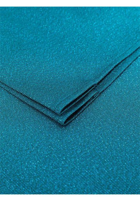 Stola oversize blu petrolio con dettagli glitter TALBOT RUNHOF | Stole | KITTY9-DG15451