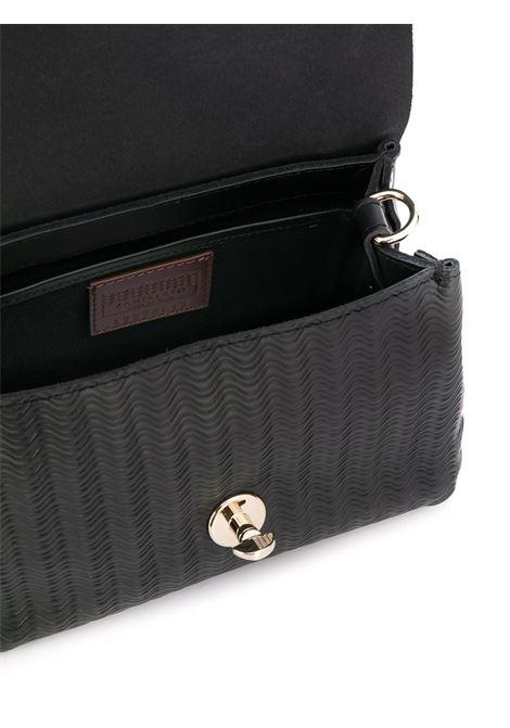 Postina tote bag piccola in pelle nera Zanellato | Borse a tracolla | 6263-6002