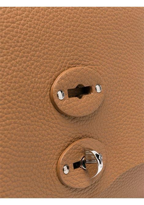 Chestnut brown leather Postina tote bag   Zanellato |  | 6801-P6C3