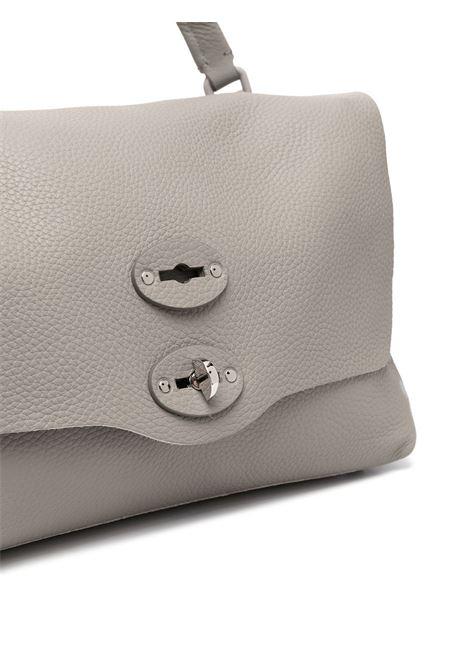 Grey calf leather  Postina tote bag featuring foldover top Zanellato |  | 6802-P659