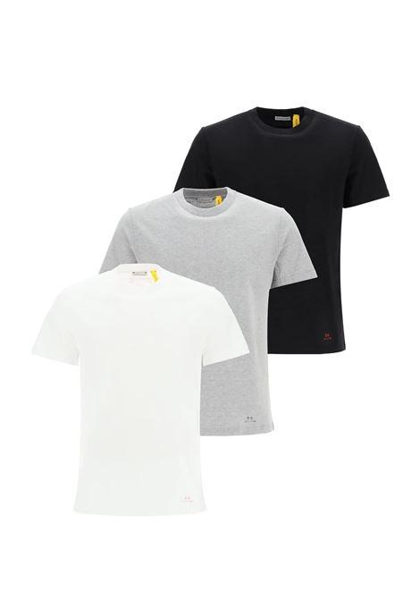 white, grey and black 3 pack Moncler Genius x 1017 ALYX 9SM t.shirt MONCLER GENIUS |  | 8C710-10-829L0099