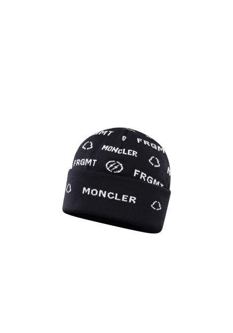 Cappello in lana nera Moncler Genius x Fragment Design MONCLER GENIUS | Cappelli | 9Z702-00-A9489999