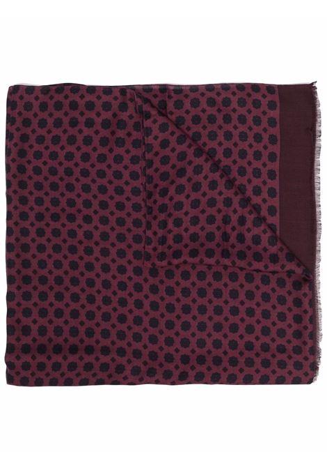Sciarpa viola con stampa floreale in modal ALTEA | Sciarpe e foulards | 216003203