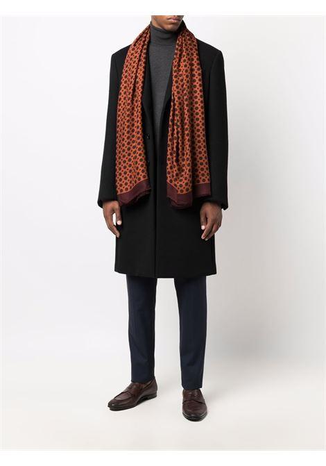 Sciarpa con stampa floreale in modal arancione ALTEA | Sciarpe e foulards | 216003204