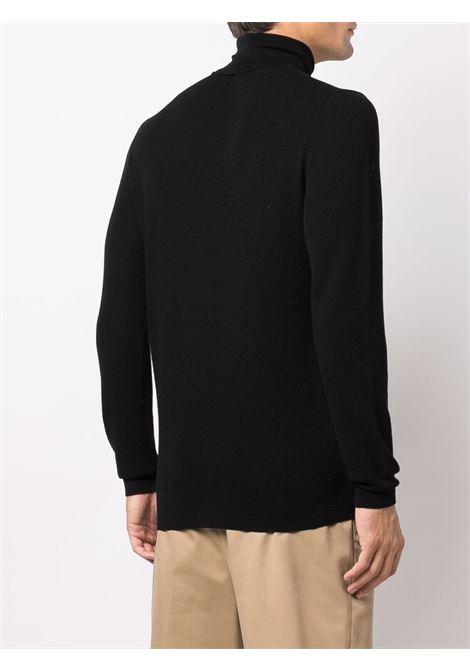 dolcevita nero con collo alto in lana ALTEA | Maglieria | 216111390
