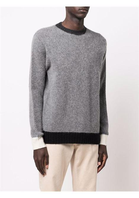 Maglia in lana vergine grigio pietra ALTEA | Maglieria | 216120522