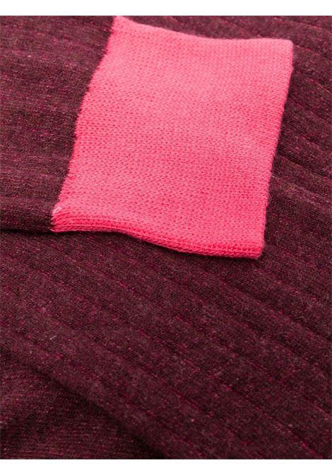 Calzini in misto cotone elasticizzato bordeaux e rosa ALTEA | Calze | 216800203