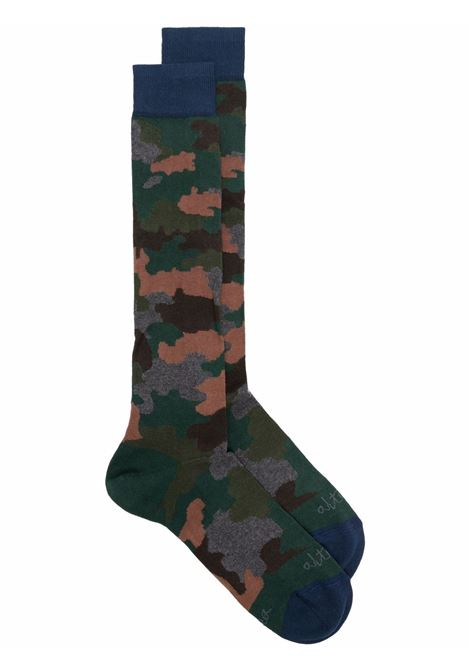 Multicoloured camouflage ankle socks featuring Altea logo ALTEA |  | 216801402