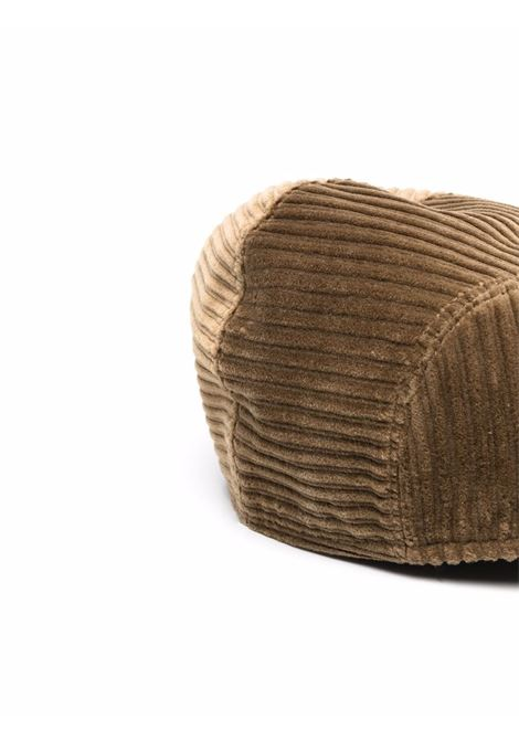 camel colour corduroy cap featuring flat peak. ALTEA |  | 216812134
