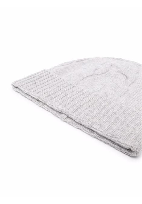 Berretto grigio in maglia di lana e cashmere ALTEA | Cappelli | 216814210