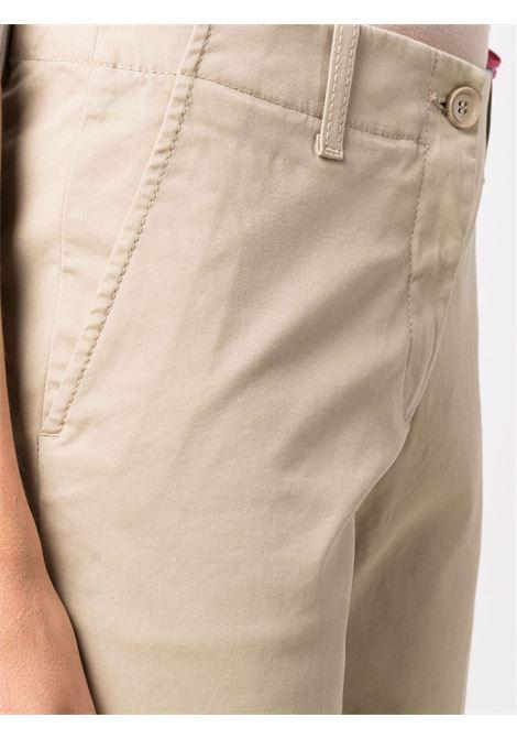 Beige cotton wide-leg trousers  ASPESI |  | 0112-G39801047