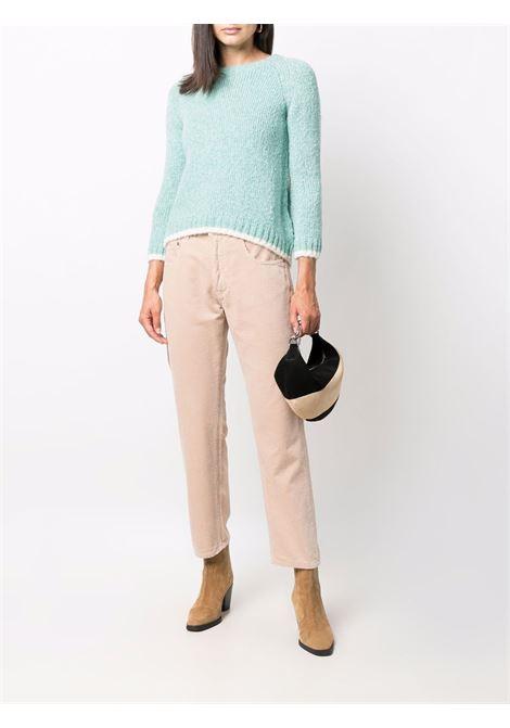 Pantaloni a gamba dritta in velluto a coste di cotone beige ASPESI | Pantaloni | 0180-E79285083