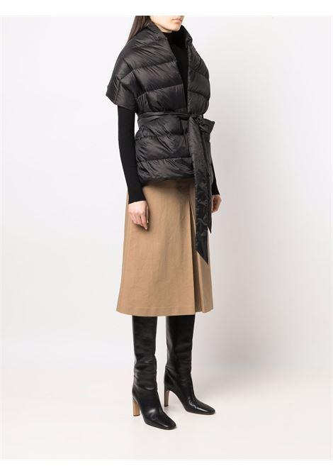 black padded down-filled scarf  ASPESI      1E07-E04185241