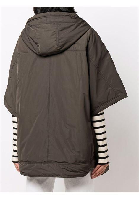 mantella verde militare e zip con cappuccio classico ASPESI   Mantella   1N08-G70301237