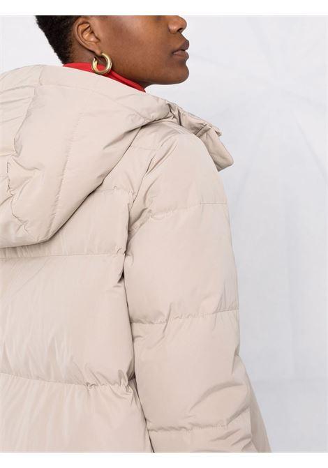 Piumino beige con cappuccio con imbottitura in piuma d'oca ASPESI | Piumini | 1N09-G70301045