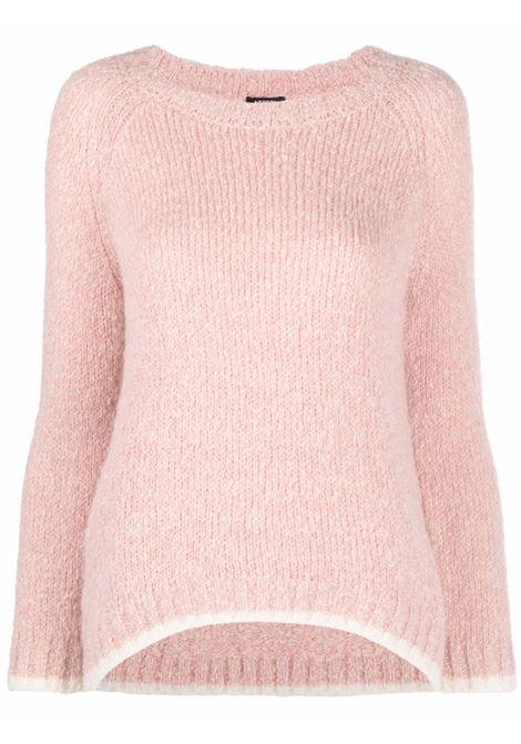 Maglione raglan rosa pastello ASPESI | Maglieria | 5097-406501248