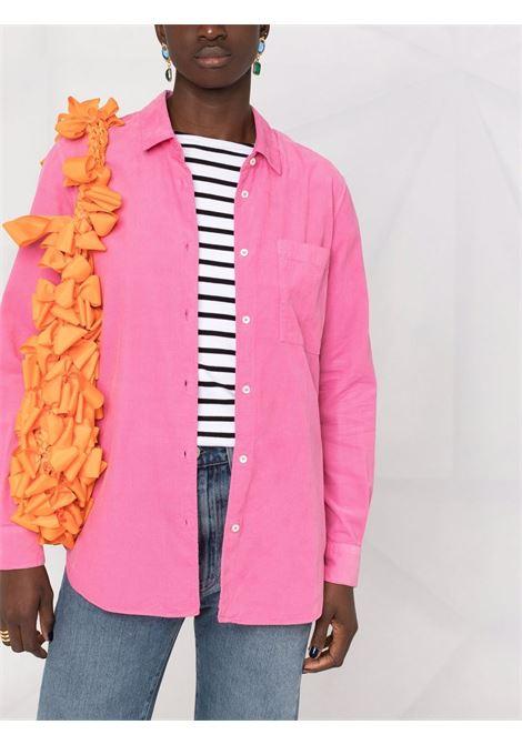 Camicia rosa in cotone a maniche lunghe con taschino ASPESI | Camicie | 5403-G53685278