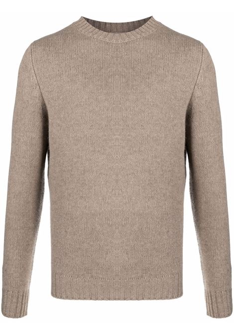 Beige cashmere jumper featuring fine knit ASPESI |  | M408-402501090