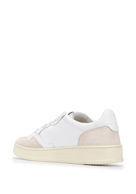 White leather Action low-top sneakers  AUTRY |  | ALUM-LS33BIANCO
