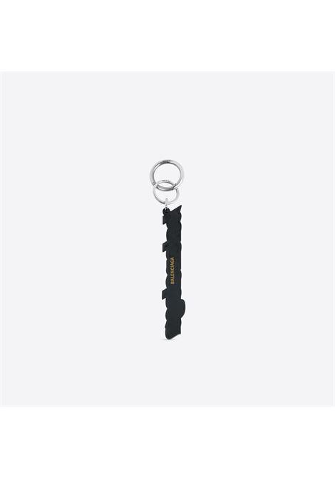Balenciaga key ring in black and white rubber BALENCIAGA |  | 639106-JEW6Y1090