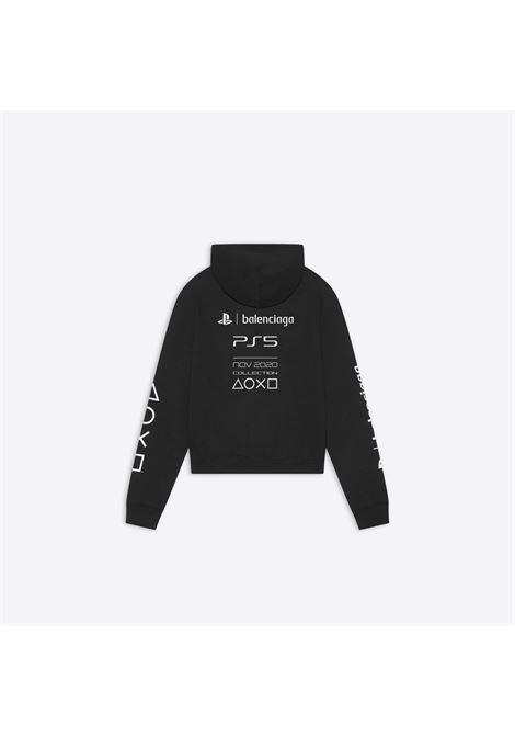 felpa nera Balenciaga x PlayStation collection BALENCIAGA | Felpe | 657034-TKVF41070