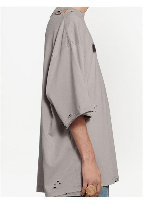 Steel grey cotton short-sleeve T-shirt  BALENCIAGA |  | 661715-TKVD58174