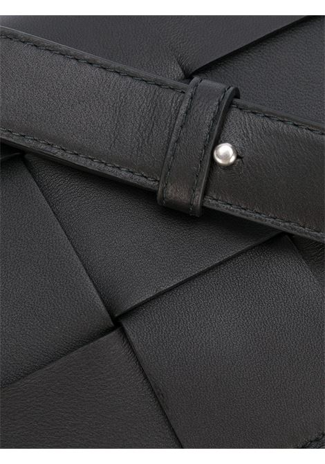 Black lamb leather Cassette crossbody bag   BOTTEGA VENETA |  | 578004-VMAY11229