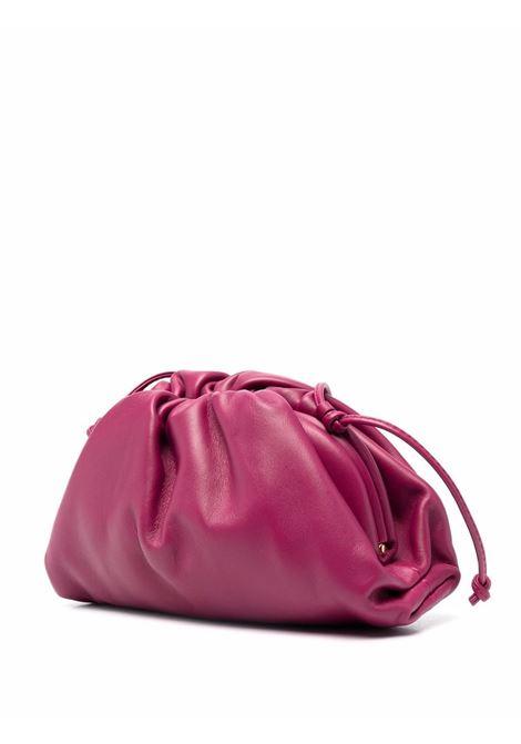 violet calf leather The Mini Pouch bag  BOTTEGA VENETA |  | 585852-VCP405562