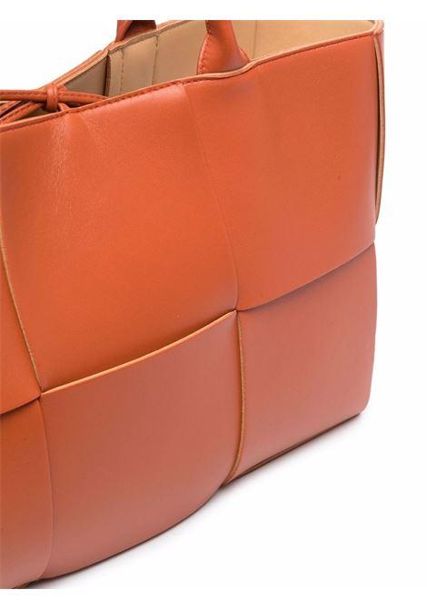 Borsa tote Arco in pelle di agnello arancione BOTTEGA VENETA | Borse tote | 609175-VMAY37660