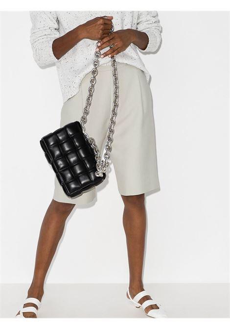 Black lamb leather The Chain Cassette shoulder bag  BOTTEGA VENETA |  | 631421-VBWZ01229