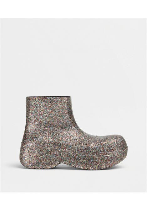 Stivaletti BV Puddle in gomma biodegradabile glitter multicolor BOTTEGA VENETA | Stivali | 640045-V10Q05005