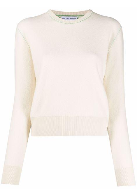 Ivory felted wool jumper  BOTTEGA VENETA |  | 664712-V0ZR09317